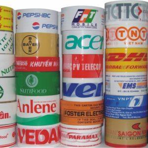 sản xuất băng dính in