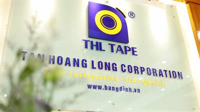 Sản xuất băng dính Tân Hoàng Long