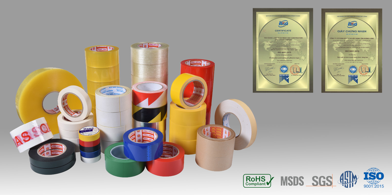 nhà sản xuất băng dính băng keo THL TAPE